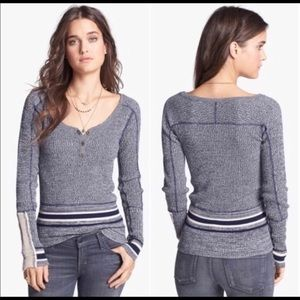 Free People Scoop neck sweater.